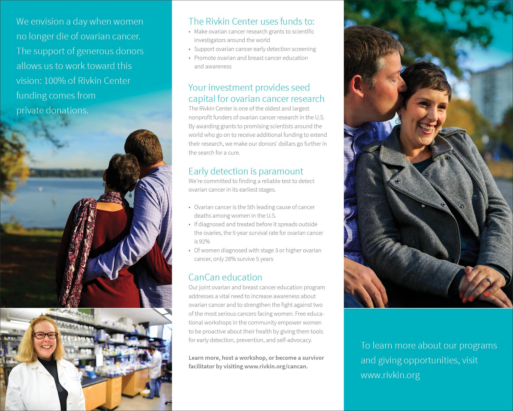 Rivkin Center Print Brochure Side 2