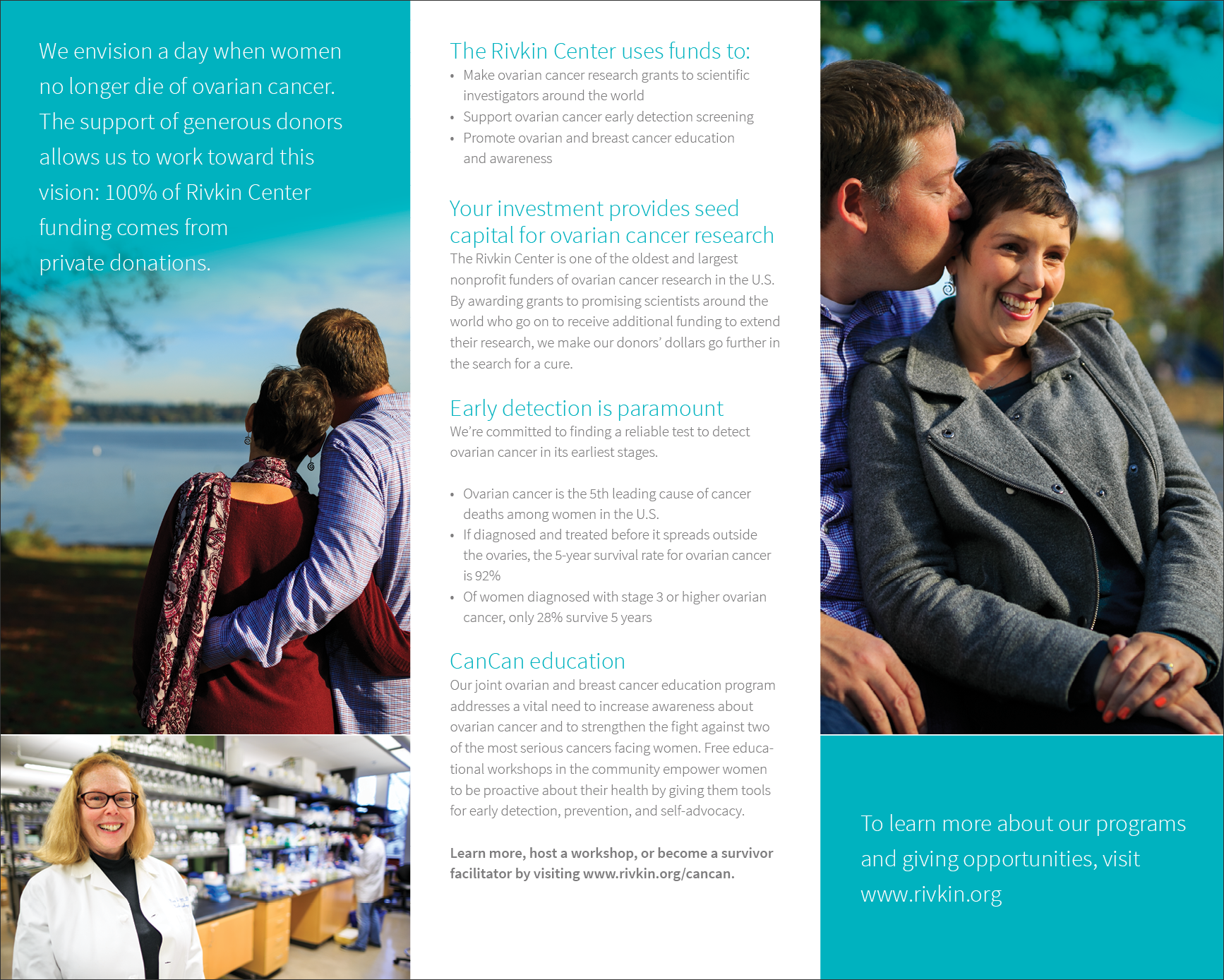 Rivkin Center Brochure Heidi Kenyon